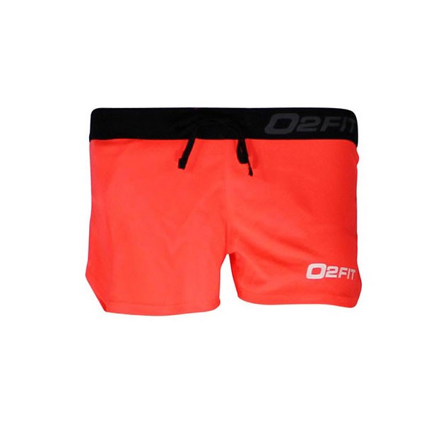 o2fit Womens Activewear Running Shorts - Coral Pink