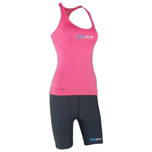 o2fit Womens Activewear Running Singlet - Pink